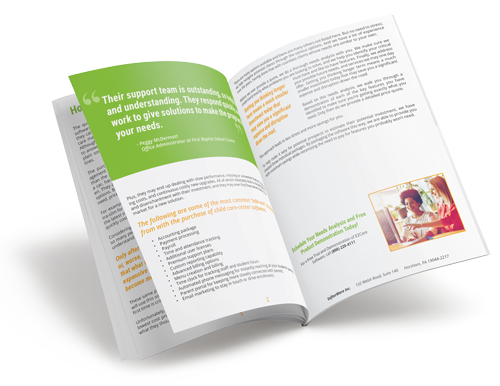 How Much Does Childcare Software Cost? E-Book Cover