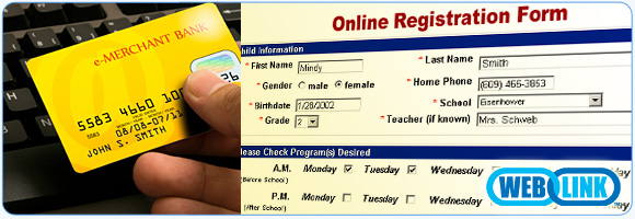 Online Childcare Registration Collage