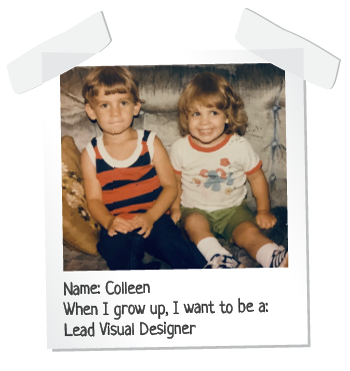 child photo of colleen and sean