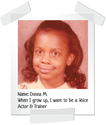 Donna child photo for childcare tuition payments article