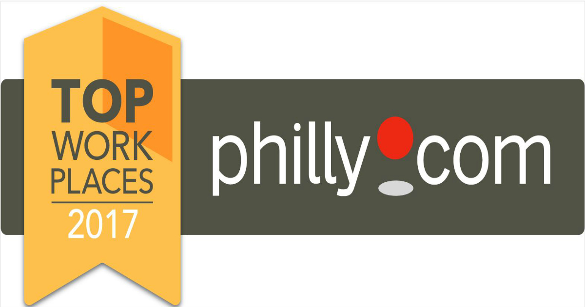 SofterWare, Inc. Received a Philly.com 2017 Top Workplaces Award
