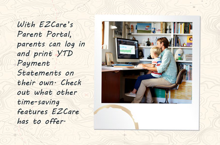 Childcare tuition statements generate in a snap with EZCare