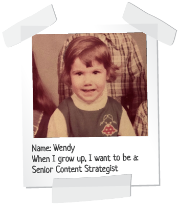 baby Wendy polaroid