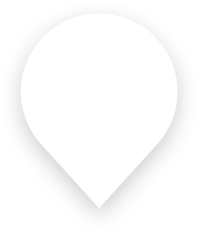 white map marker